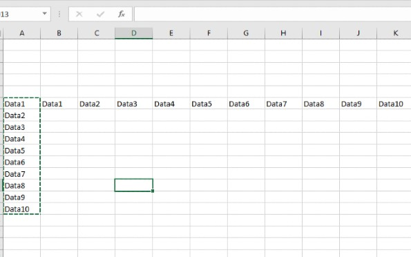 How to transpose data - image 2